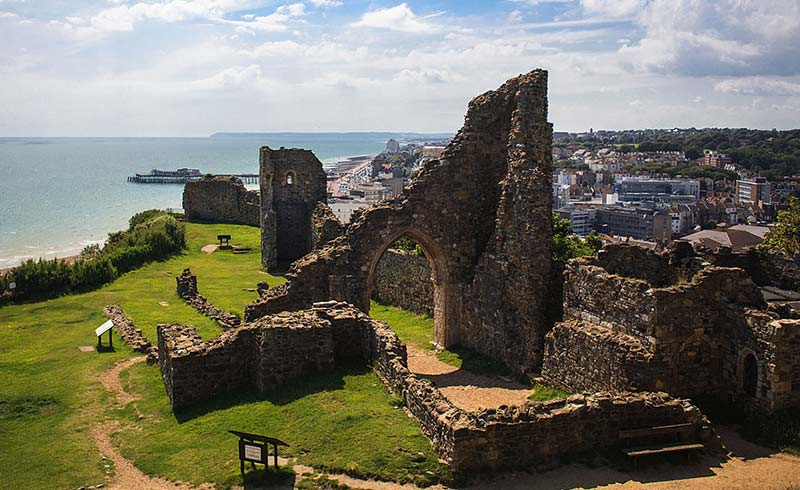 Hastings Castle Eye Test